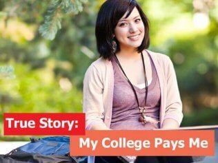 True Story: My College Pays Me